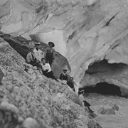 Cover image of [Alpine Club members at Yoho Glacier (?)]
