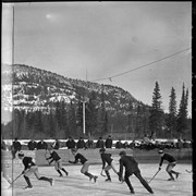 Cover image of Boy's hockey on the Bow River