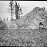 Cover image of Glacial rock west of Red Deer
