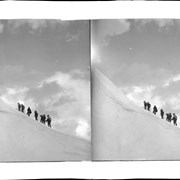 Cover image of Group of climbers ascending Mount Aberdeen