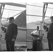 Cover image of Captain on deck of ship