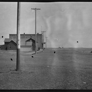 Cover image of Street scene of prairie town
