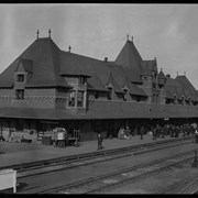 Cover image of Moose Jaw railway station