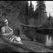 Cover image of Elliott Barnes fishing on Forty Mile Creek
