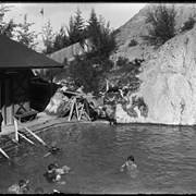 Cover image of Cave and Basin bathhouse and pool