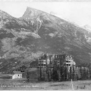 Cover image of 641. C.P.R. Hotel & Mt. Rundell, Banff