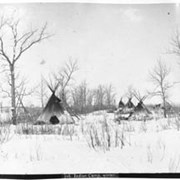 Cover image of 716. Indian camp, winter