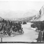 Cover image of 743. Lower Bow Park from C.P.R. Hotel, Banff