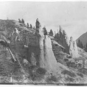 Cover image of 664. 'The Hoodoos' Natural Monuments, Banff