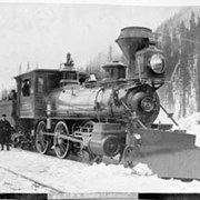 Cover image of 703. C.P.R. Engine 73 and train