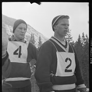 Cover image of High School Ski Meet, Banff.  Jan. 28 - 29, 1956