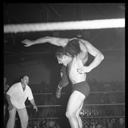 Cover image of Al. [Alberta] Wrestling pictures, 1952