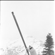 Cover image of Mt. Norquay Avalanche gun trial April 13/82