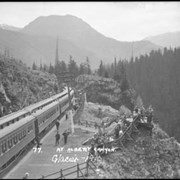 Cover image of 77. Canadian Pacific Railway, Glacier, at Albert Canyon
