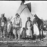 Cover image of 503. Western Canadian Indian family