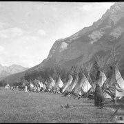 Cover image of 500. Stoney Indian camp
