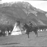 Cover image of Banff Indian Days, Mountie