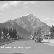 Cover image of 876. Banff Avenue from bridge