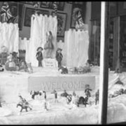 Cover image of Banff Winter Carnival window display
