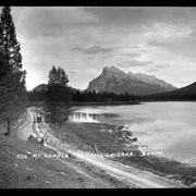 Cover image of 328. Mt. Rundle, Vermilion Lakes, auto rd.