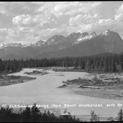Cover image of 611. Vermillion Range from Banff-Windermere Auto Rd. (old p.c.)