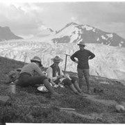 Cover image of 661. ACC camp, Yoho on Waputik Icefield, sheet film