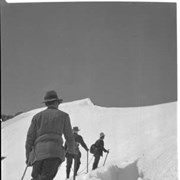 Cover image of 310. Ascending snow slope on Mt. Habel, sheet film