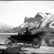 Cover image of 30. Old car at Minnewanka