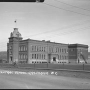 Cover image of Central School, Cranbrook, B.C.