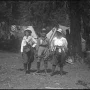 Cover image of 3 ladies, ACC camp