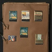 Cover image of Travel scrapbook