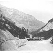 Cover image of 7th crossing, Lower Kicking Horse Canyon. 308.