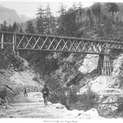 Cover image of 38. Spuzzum Bridge and Wagon Road