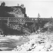 Cover image of 64. Salmon River Bridge, 200 ft. span