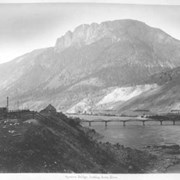 Cover image of 36. Spences Bridge, looking down river