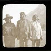 Cover image of Arthur Rider, Ben Kaquitts and Dan Wildman Sr. (Thu-da-ga-do) Stoney Nakoda