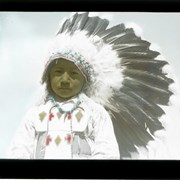Cover image of Child with headdress