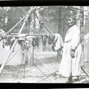 Cover image of Betsey Twoyoungmen drying meat
