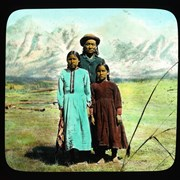 Cover image of [Joshua Twin (Stoney) and daughters]