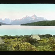 Cover image of [Camp at Maligne Lake]