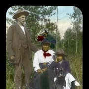 Cover image of [Jack Cregg and unidentified woman and child]