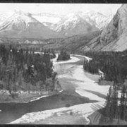 Cover image of 603. View from the C.P.R. Hotel, Banff (looking east)