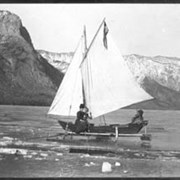 Cover image of 541. Ice boat on Devil's Lake