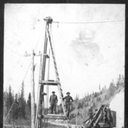 Cover image of 569. Pile driving on Columbia, B.C.
