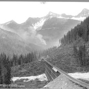 "Cover image of 3083. ""Loop,"" C.P.R. Selkirk Mts."