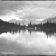 Cover image of 9. Bow River and Boat House, Banff