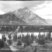 Cover image of 14. Banff and Cascade Mountain, from Sanitarium Hotel