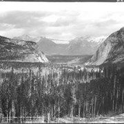 Cover image of 16. Bow River Valley from Hot Springs Drive, Banff