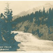 Cover image of Bow Falls. Banff.