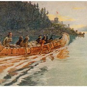 Cover image of Fur Canoe